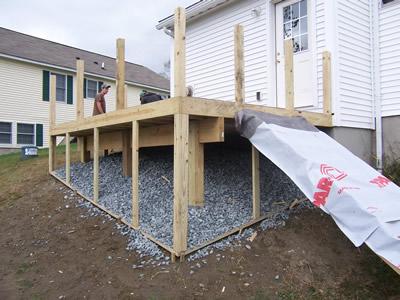 deck constrution