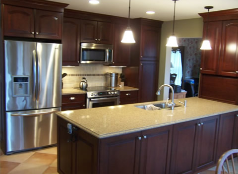 new appliances in kitchen