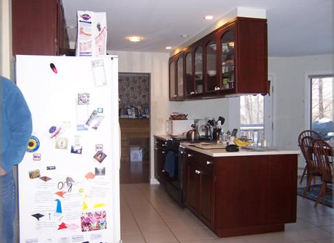 old kitchen area