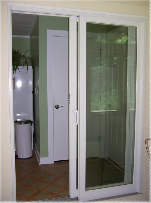 new door to porch