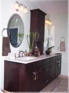 vanity area after
