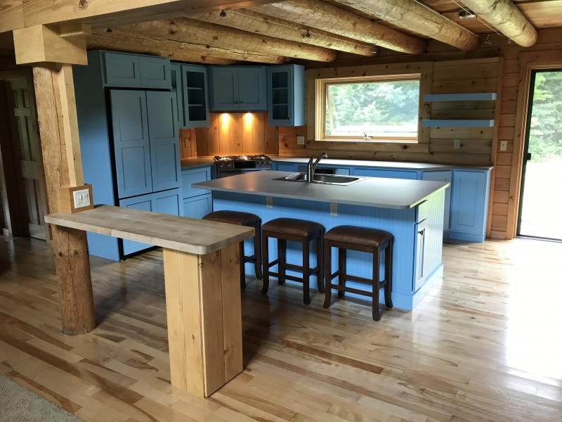 Remodel Log Cabin Kitchen