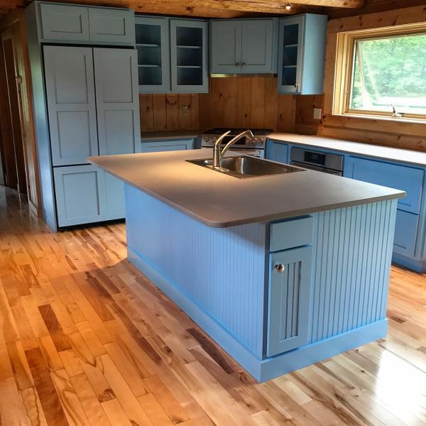An Update On My Log Cabin Renovation: Remodel Log Cabin Kitchen