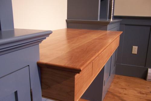 Custom built desk