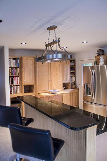 Built-in Kitchen Cabinet Storage